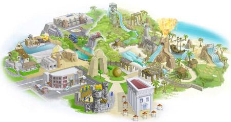Canevaworld mappa