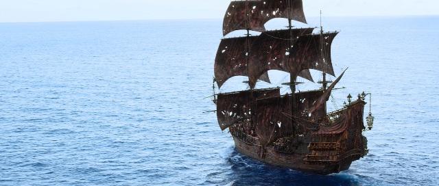 La nave pirata la Perla Nera