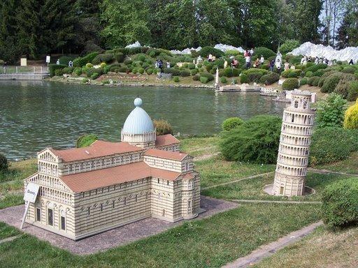 Minitalia Leolandia i monumenti di Pisa