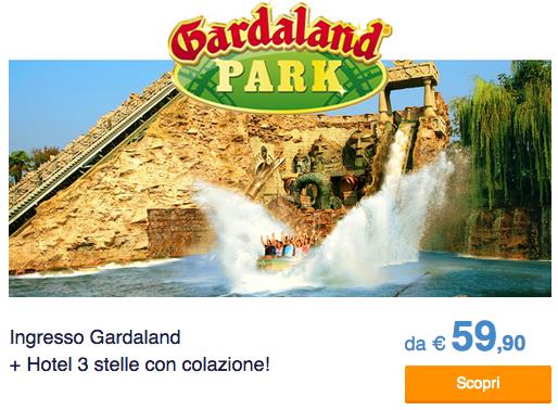 Offerta Hotel + Gardaland