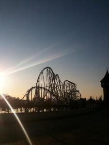 Lo Shock al tramonto