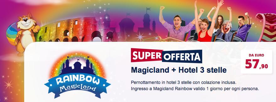 Rainbow Magicland + Hotel