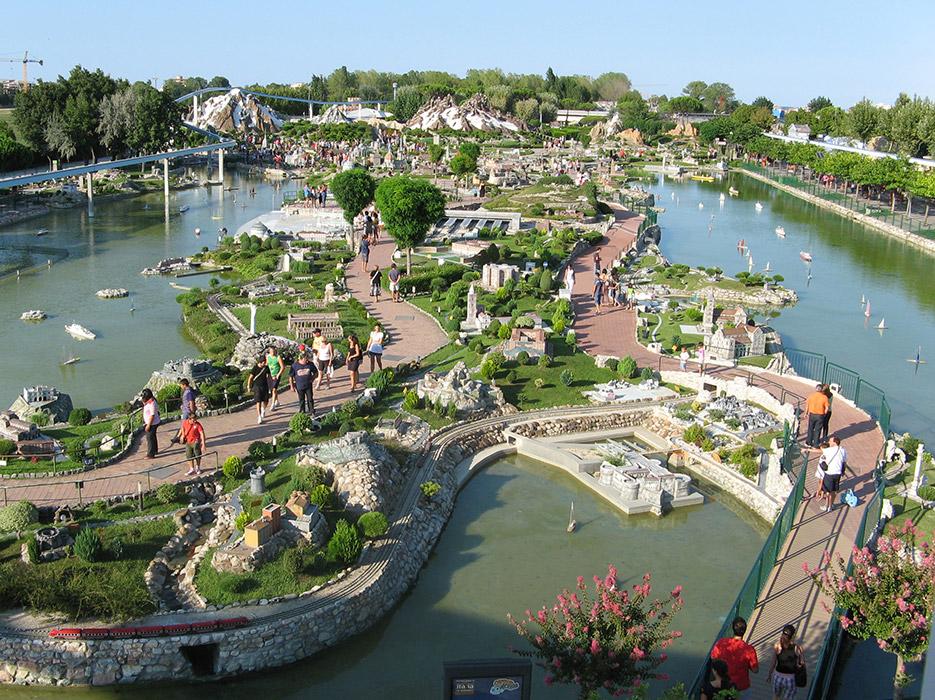parco tematico rimini italia miniatura