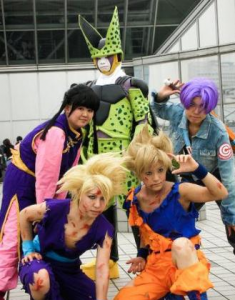 Cosplayers Dragonball