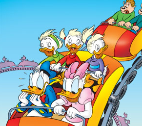 EmyEvyEly sulle Roller Coaster