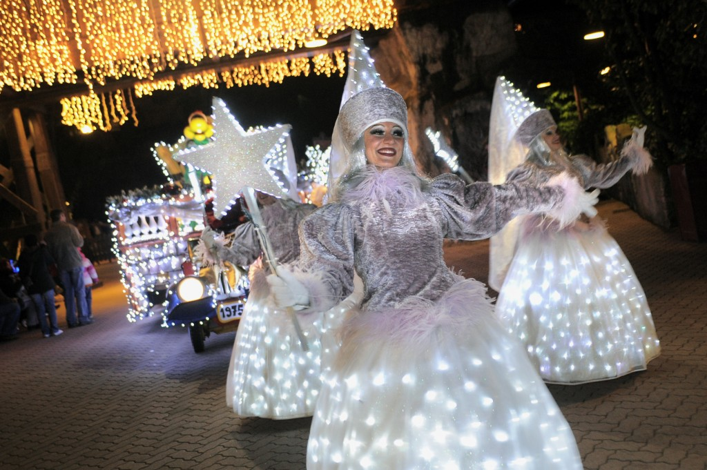 Gardaland Winter Parade