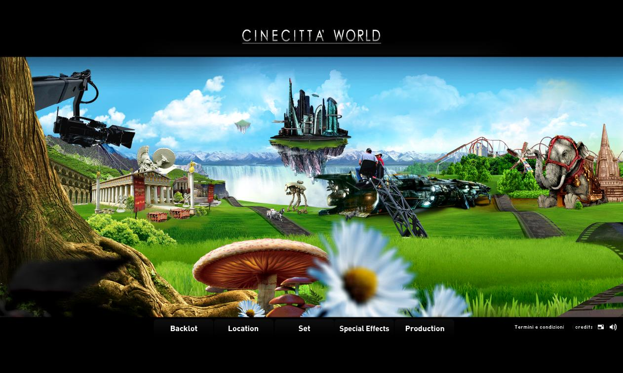 Background Cinecittà World