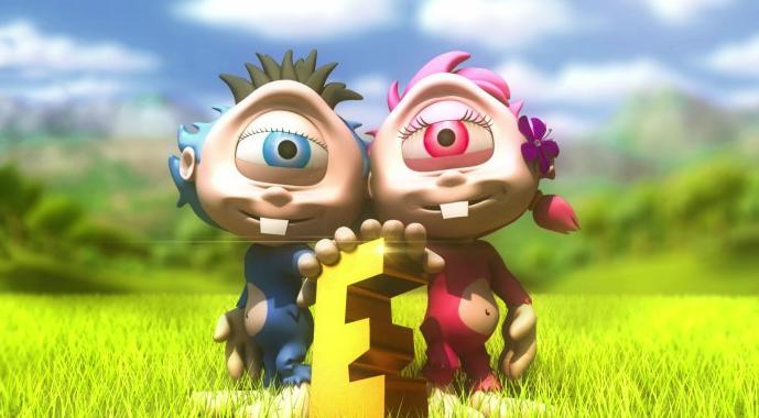 Le mascotte di Etnaland