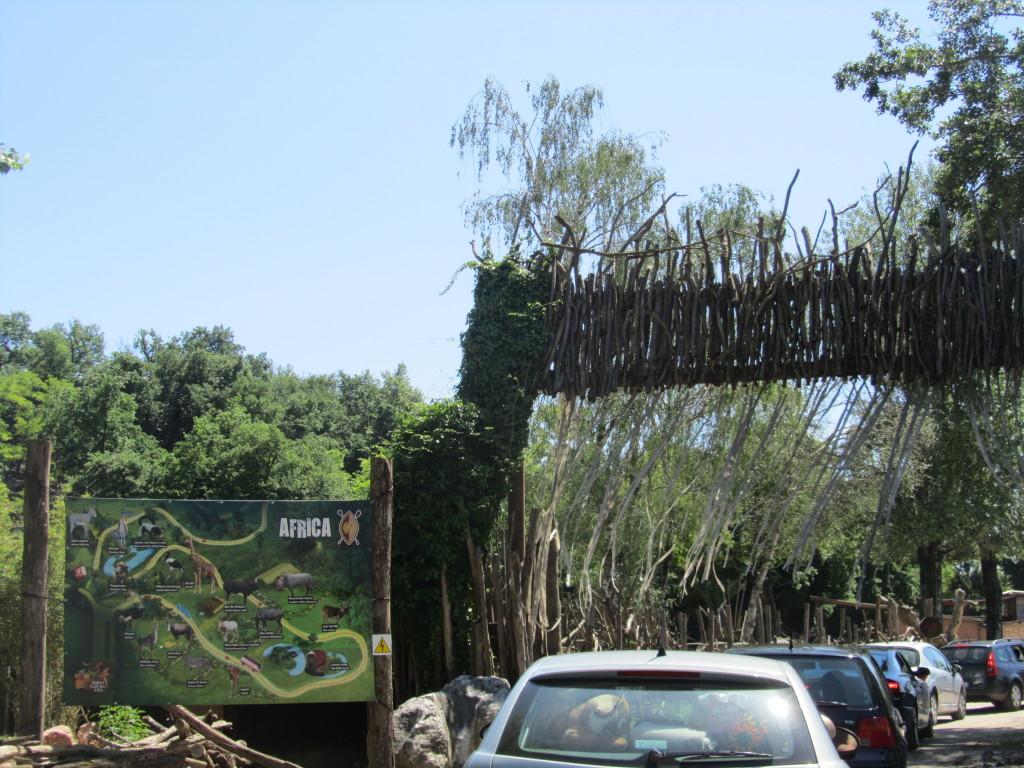 Entrata Zoo Safari Natura Viva