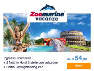 Zoomarine Vacanze Pacchetto